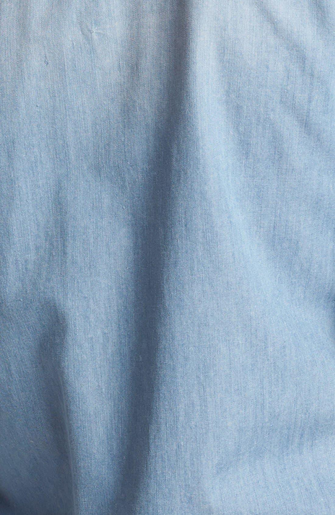 Alternate Image 3  - Halogen® Western Chambray Shirt