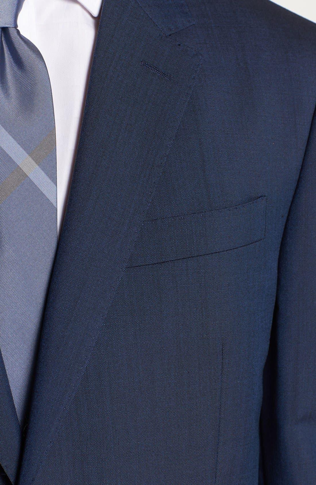 Alternate Image 2  - Burberry London Wool & Mohair Suit