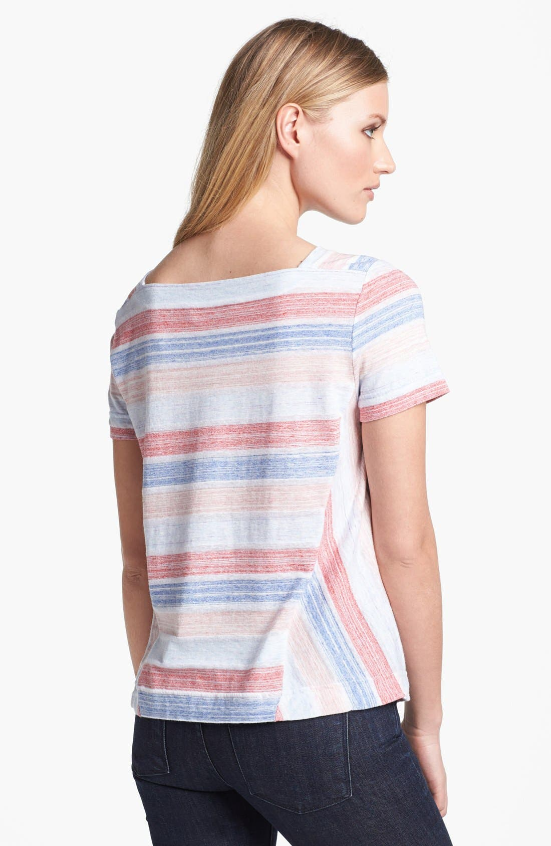 Alternate Image 2  - MARC BY MARC JACOBS 'Sketch' Stripe Tee