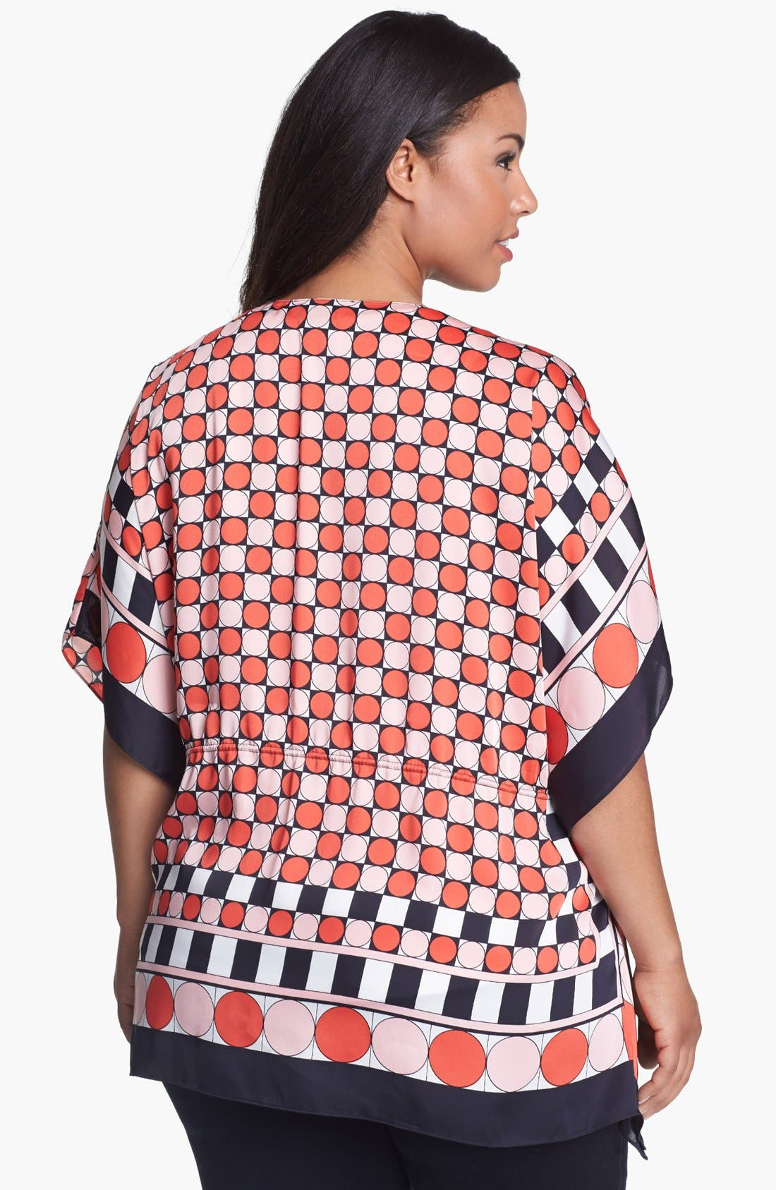 Alternate Image 2  - MICHAEL Michael Kors 'Eclipse Dot' Kimono (Plus Size)