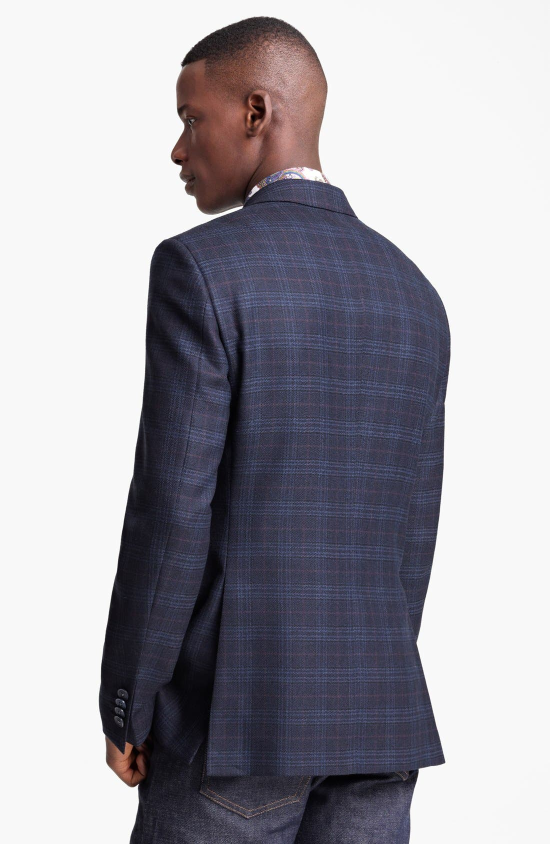 Alternate Image 2  - Etro Plaid Wool Sportcoat