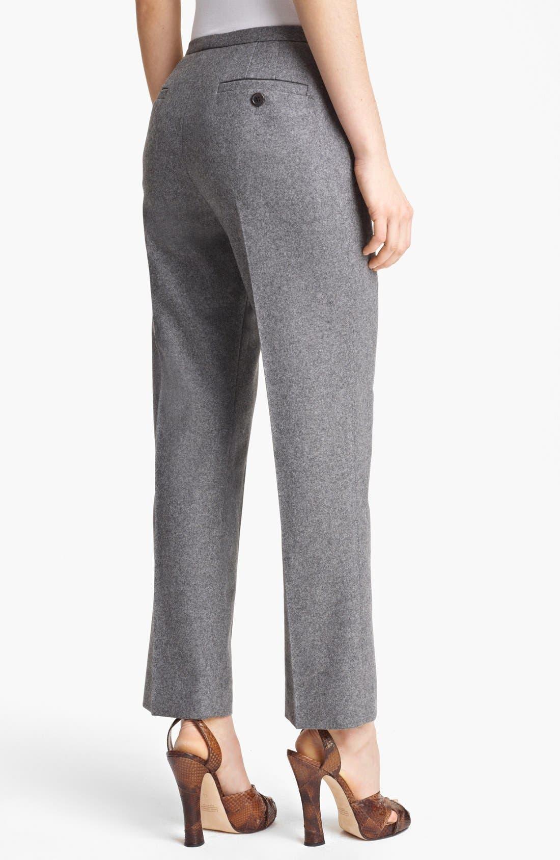 Alternate Image 2  - MARC JACOBS Wool Flannel Crop Pants