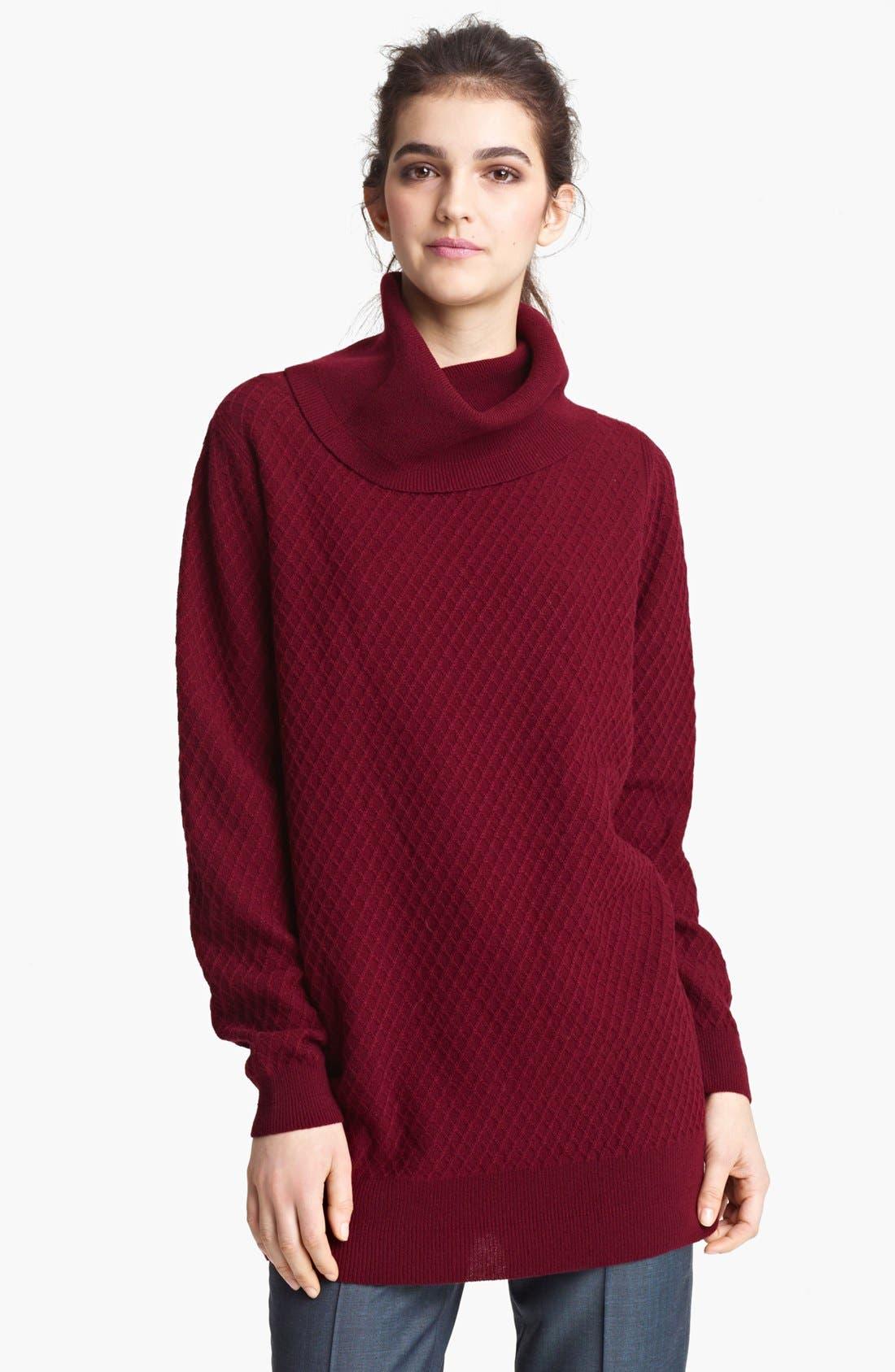 Main Image - MARC JACOBS Oversized Turtleneck Sweater