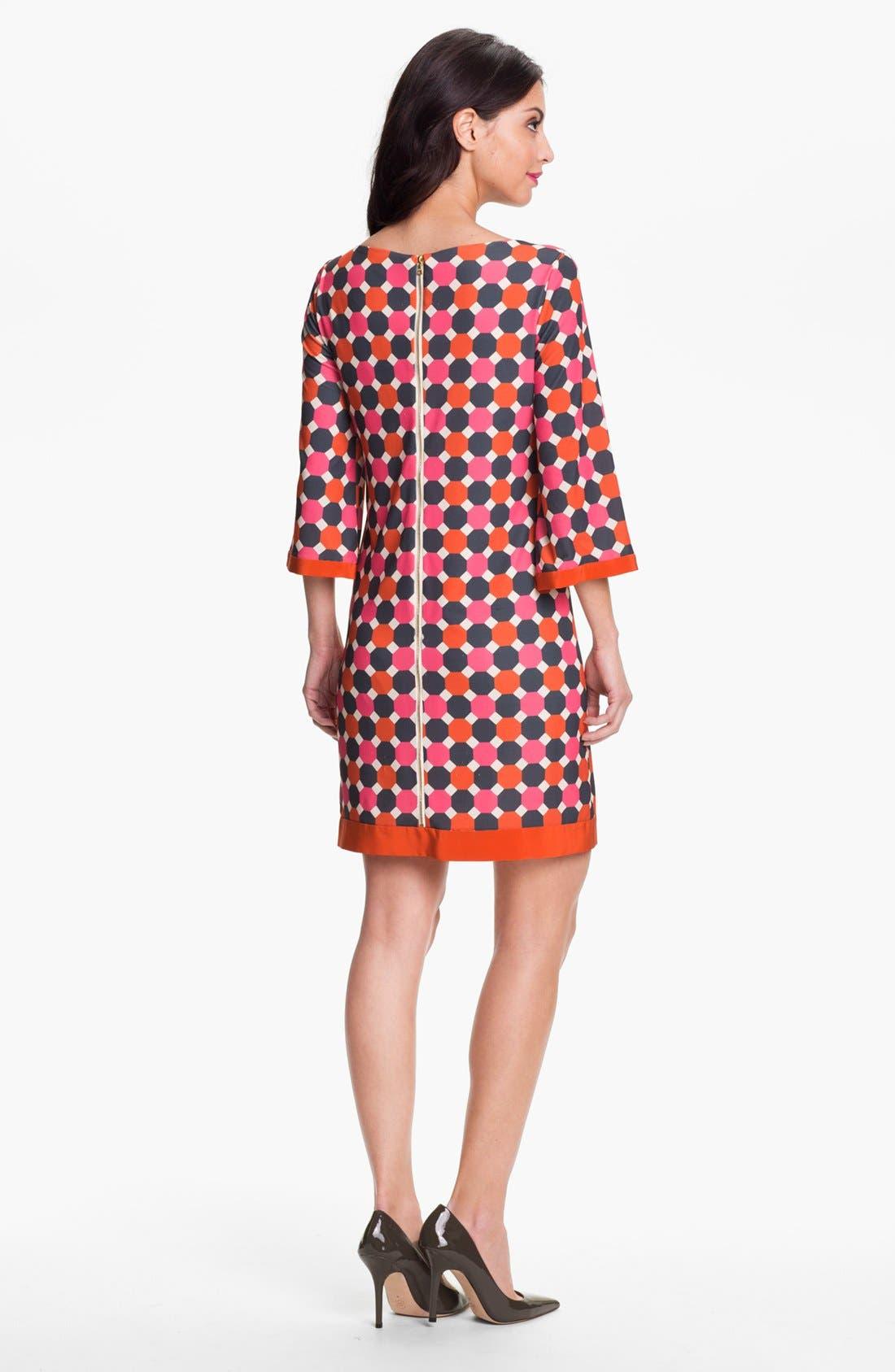 Alternate Image 2  - Eliza J Print Jersey Shift Dress