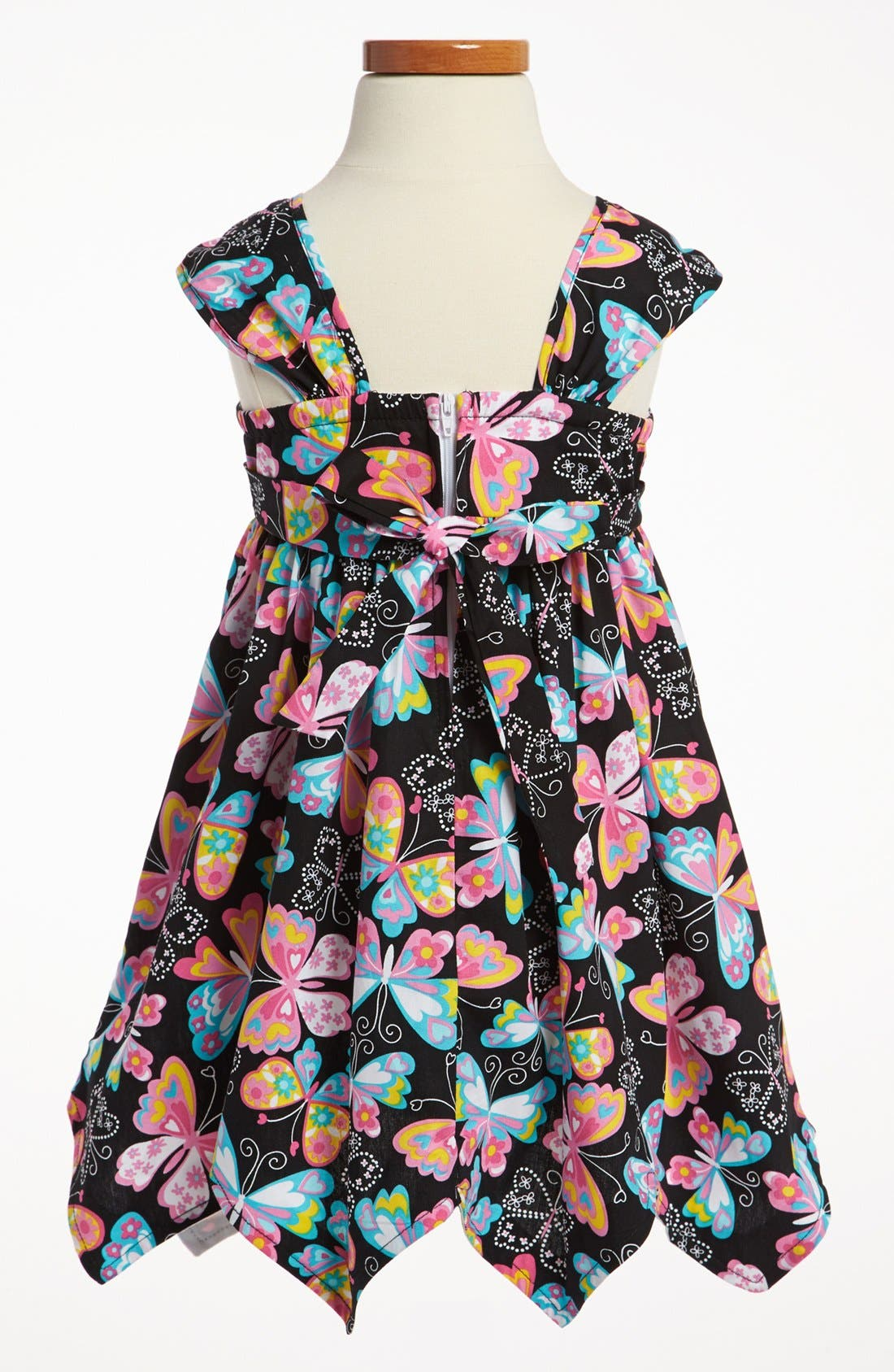 Alternate Image 2  - Iris & Ivy Apron Dress (Toddler)