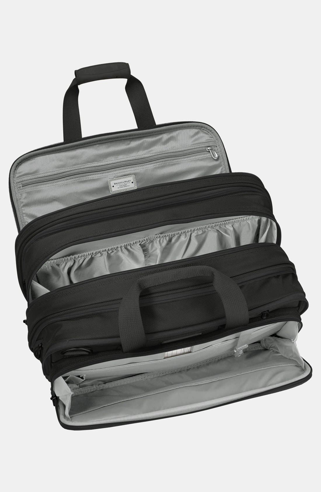 Expandable Cabin Bag,                             Alternate thumbnail 2, color,                             Black