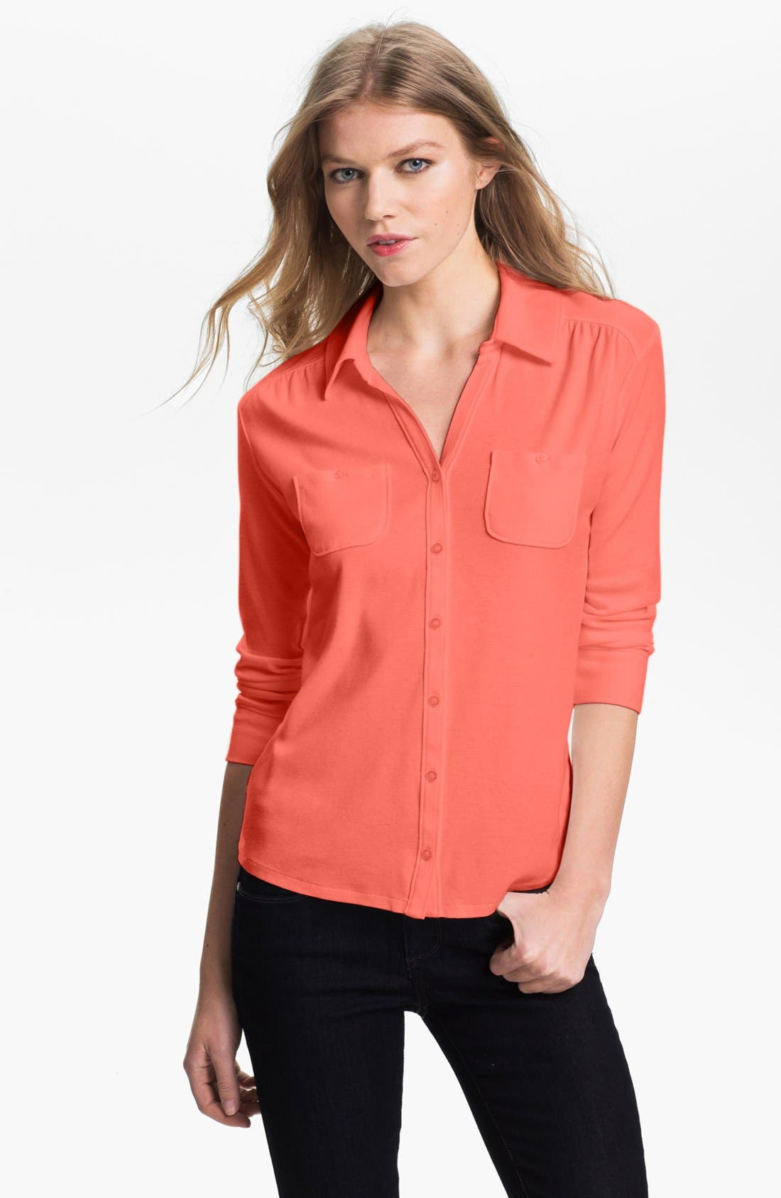 Main Image - Amber Sun Two Pocket Knit Shirt