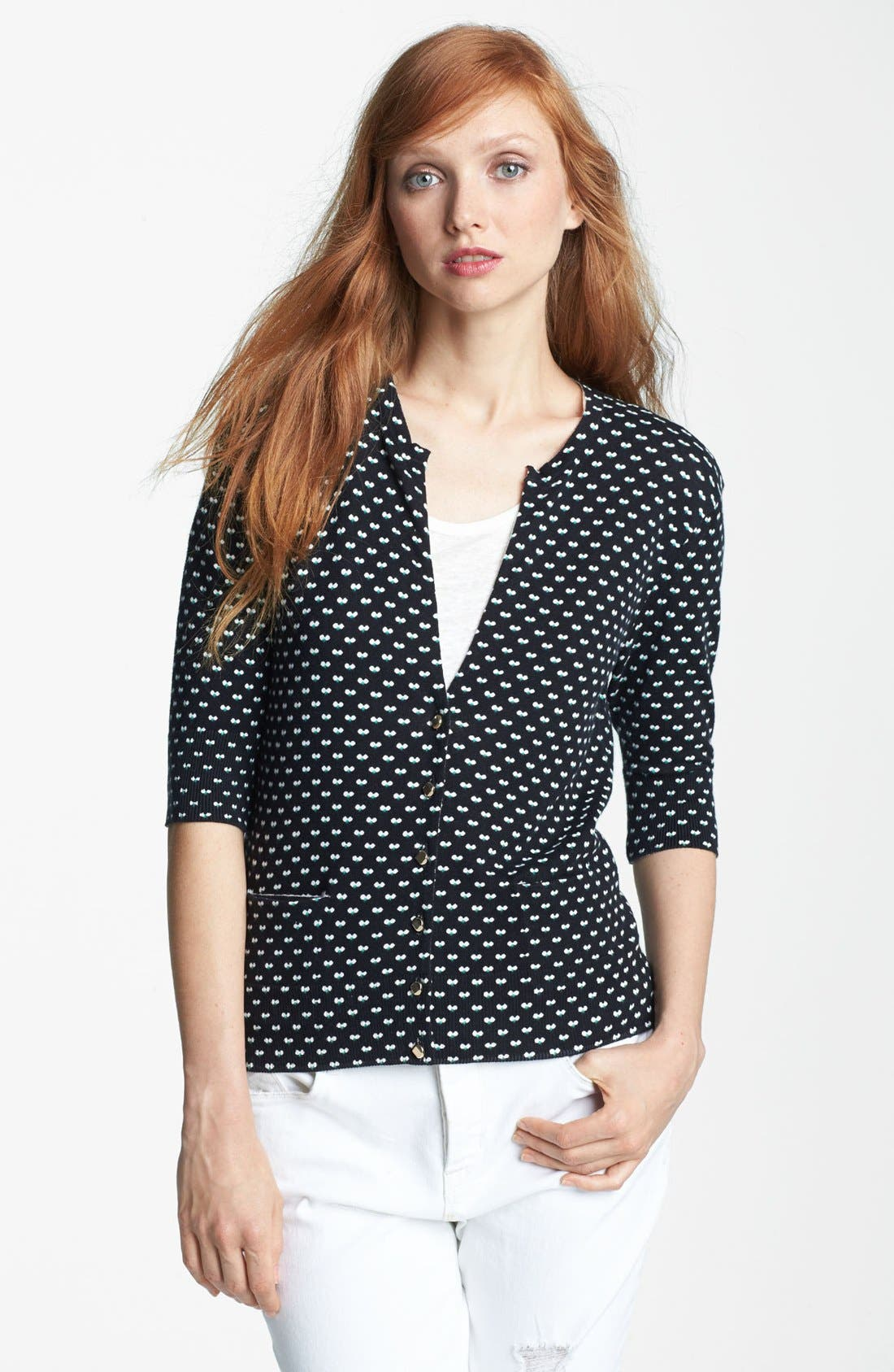 Main Image - MARC BY MARC JACOBS 'Vivie' Print Cardigan