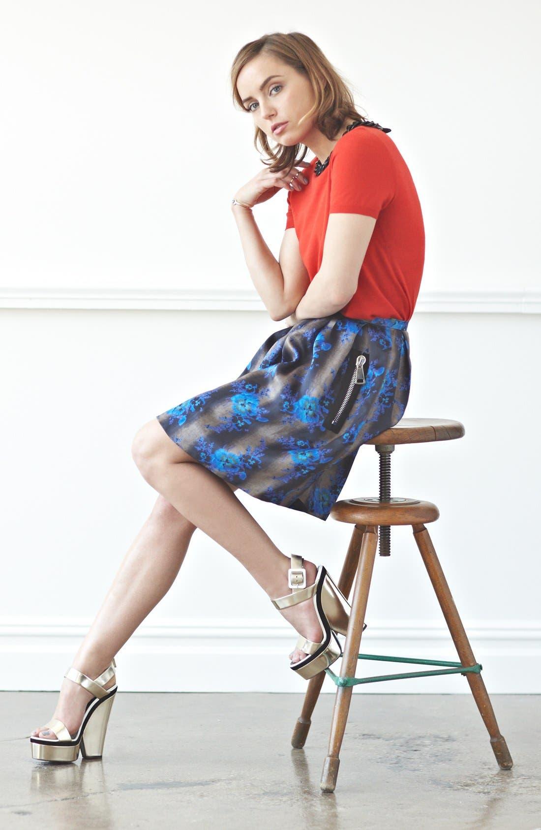 Main Image - Moschino Cheap & Chic Top & Christopher Kane Skirt