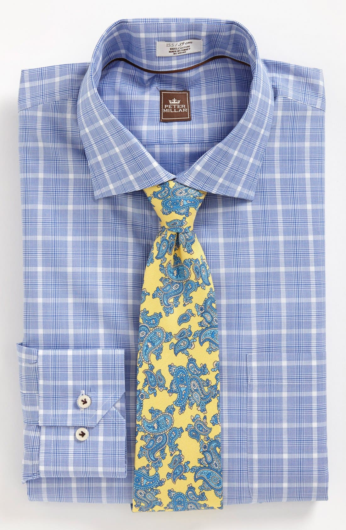 Alternate Image 3  - Peter Millar Regular Fit Dress Shirt