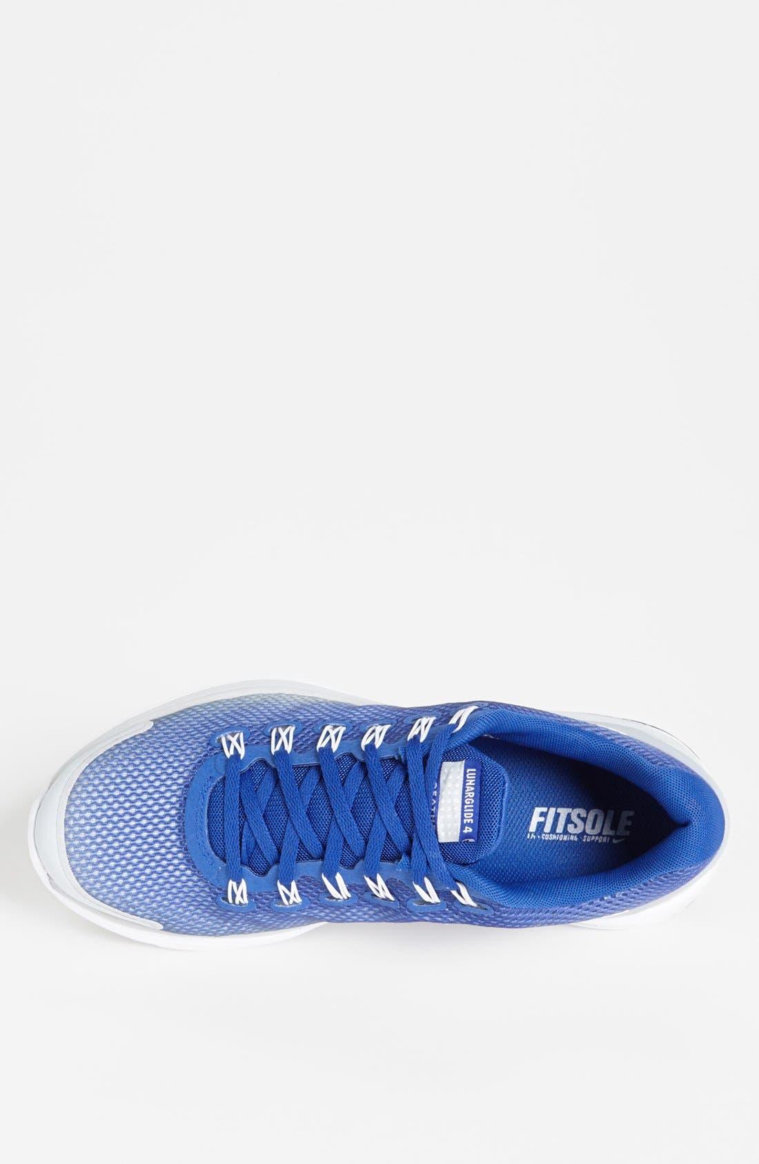 Alternate Image 3  - Nike 'LunarGlide+ 4 Breathe' Running Shoe (Men)