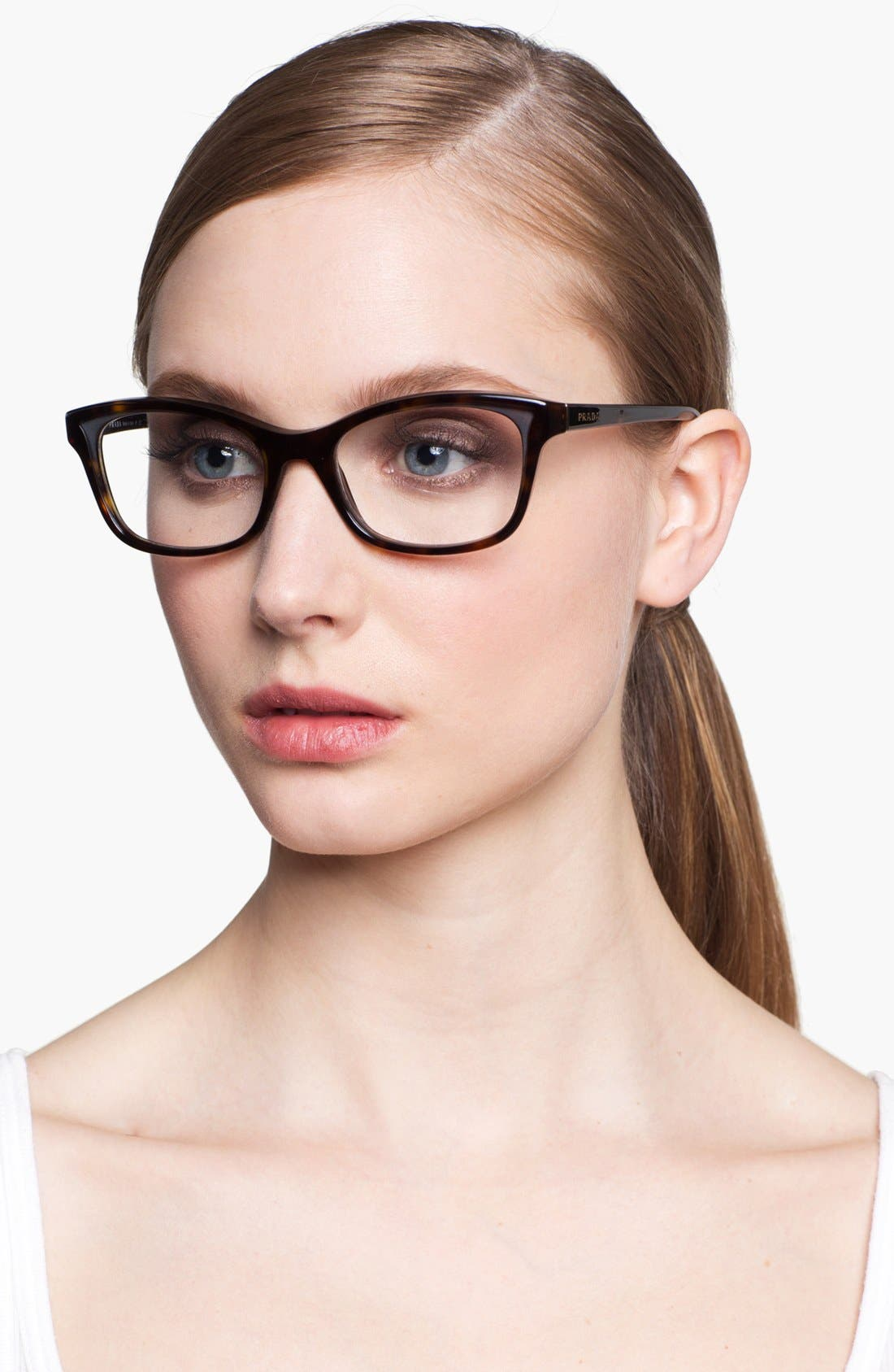 Alternate Image 2  - Prada 52mm Optical Glasses (Online Only)