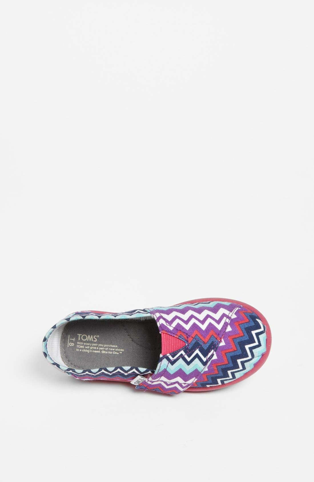 Alternate Image 3  - TOMS 'Classic Tiny - Zig Zag Pop' (Baby, Walker & Toddler)
