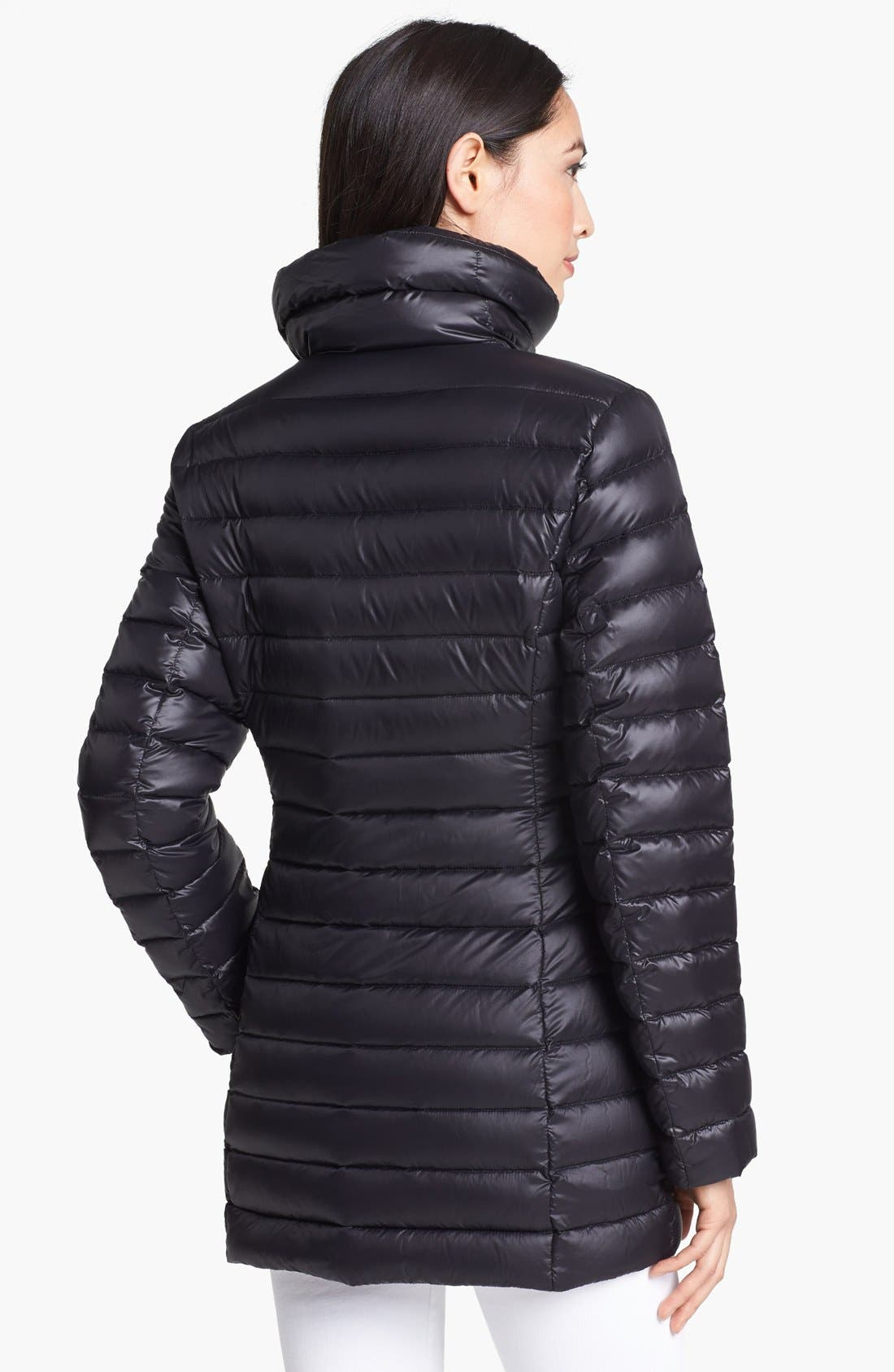 Alternate Image 2  - Calvin Klein Asymmetrical Lightweight Down Jacket