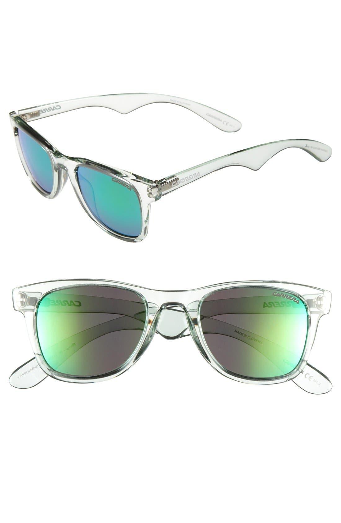 50mm Sunglasses,                         Main,                         color, Aqua