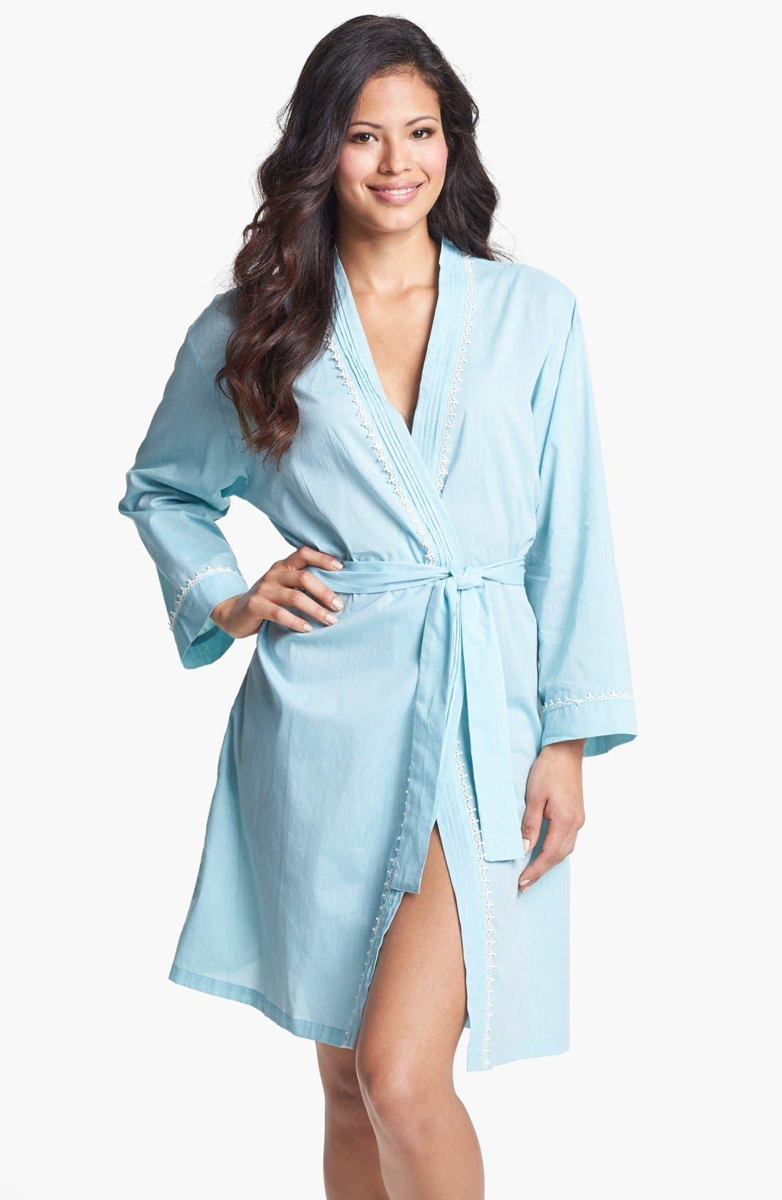 Alternate Image 1 Selected - Eileen West 'Ocean Mist' Short Robe
