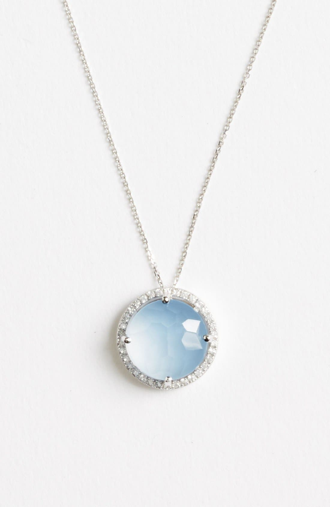 Alternate Image 1 Selected - KALAN by Suzanne Kalan Stone & Sapphire Pendant Necklace