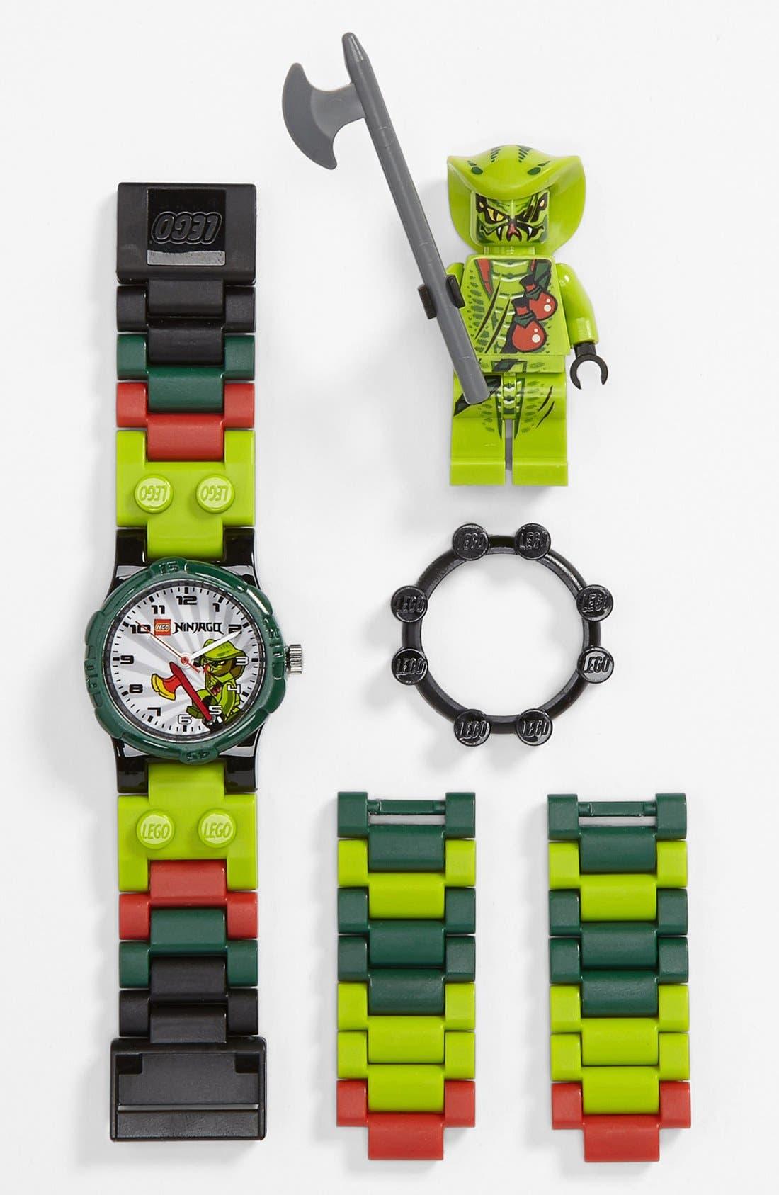 Alternate Image 1 Selected - LEGO® 'Ninjago - Lasha' Watch & Toy (Boys)