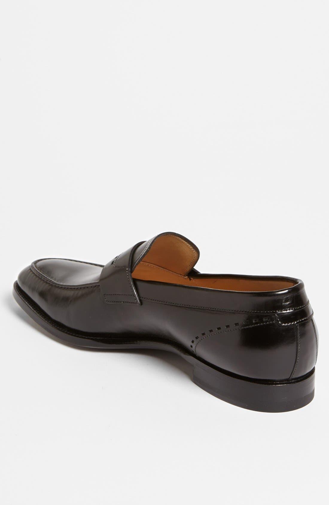 Alternate Image 2  - Santoni 'Piermont' Loafer