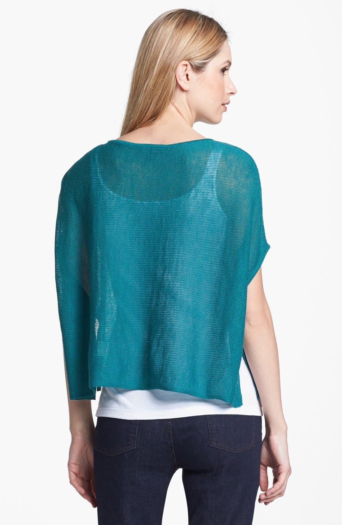 Alternate Image 4  - Eileen Fisher 'Ethereal Wool' Short Poncho Top (Regular & Petite)