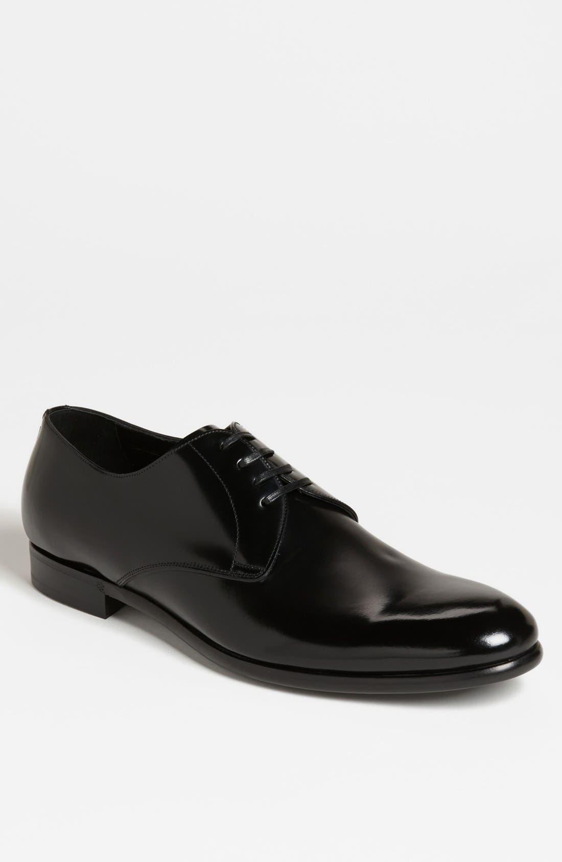 Main Image - Dolce&Gabbana 'Napoli' Plain Toe Derby