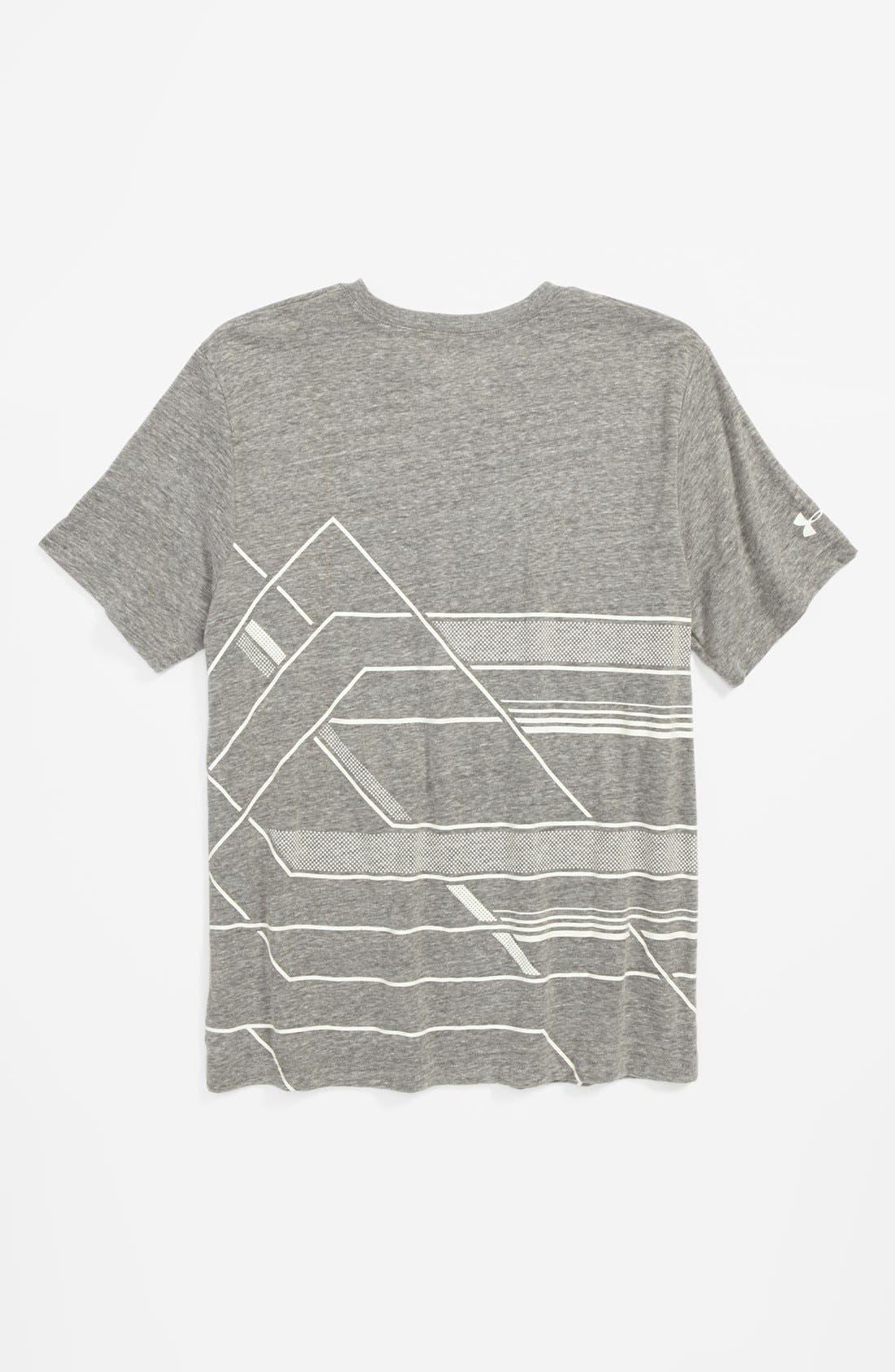 Alternate Image 2  - Under Armour 'Domineer' T-Shirt (Big Boys)