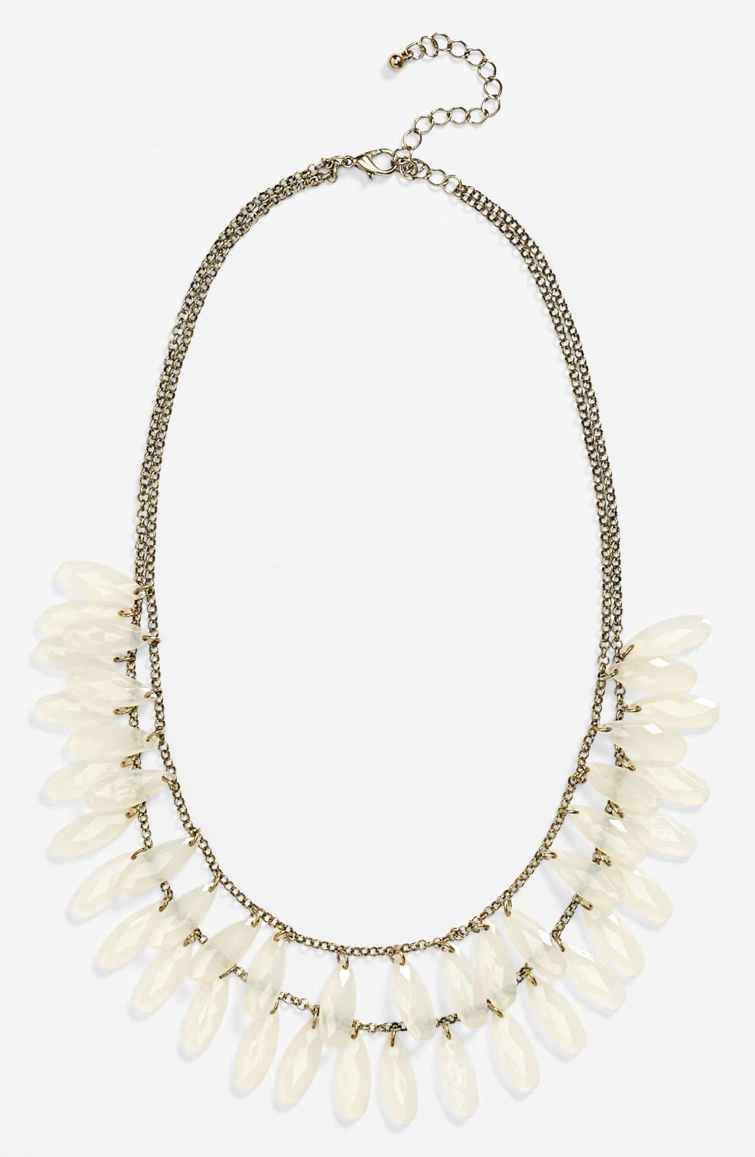 Main Image - Carole Layered Teardrop Statement Necklace (Online Only)