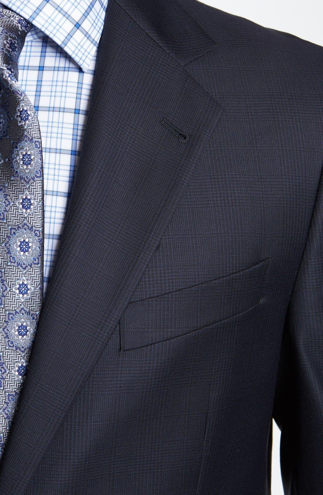 Alternate Image 2  - Joseph Abboud 'Signature Silver' Wool Suit