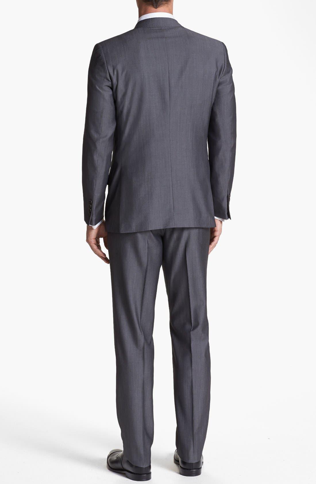 Alternate Image 3  - Ted Baker London 'Jim' Grey Wool Suit