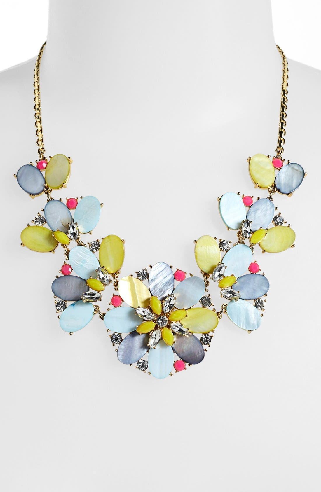 Alternate Image 2  - kate spade new york 'bungalow bouquet' bib necklace