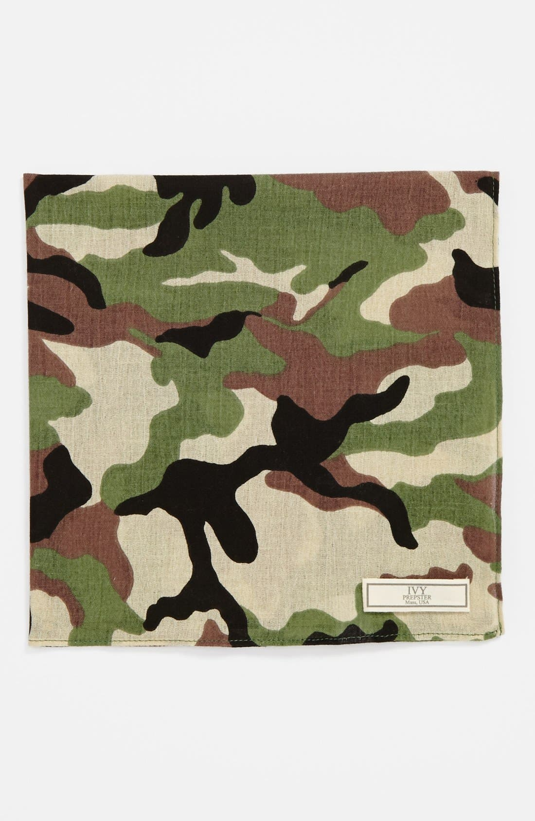 Main Image - Ivy Prepster Camo Pocket Square