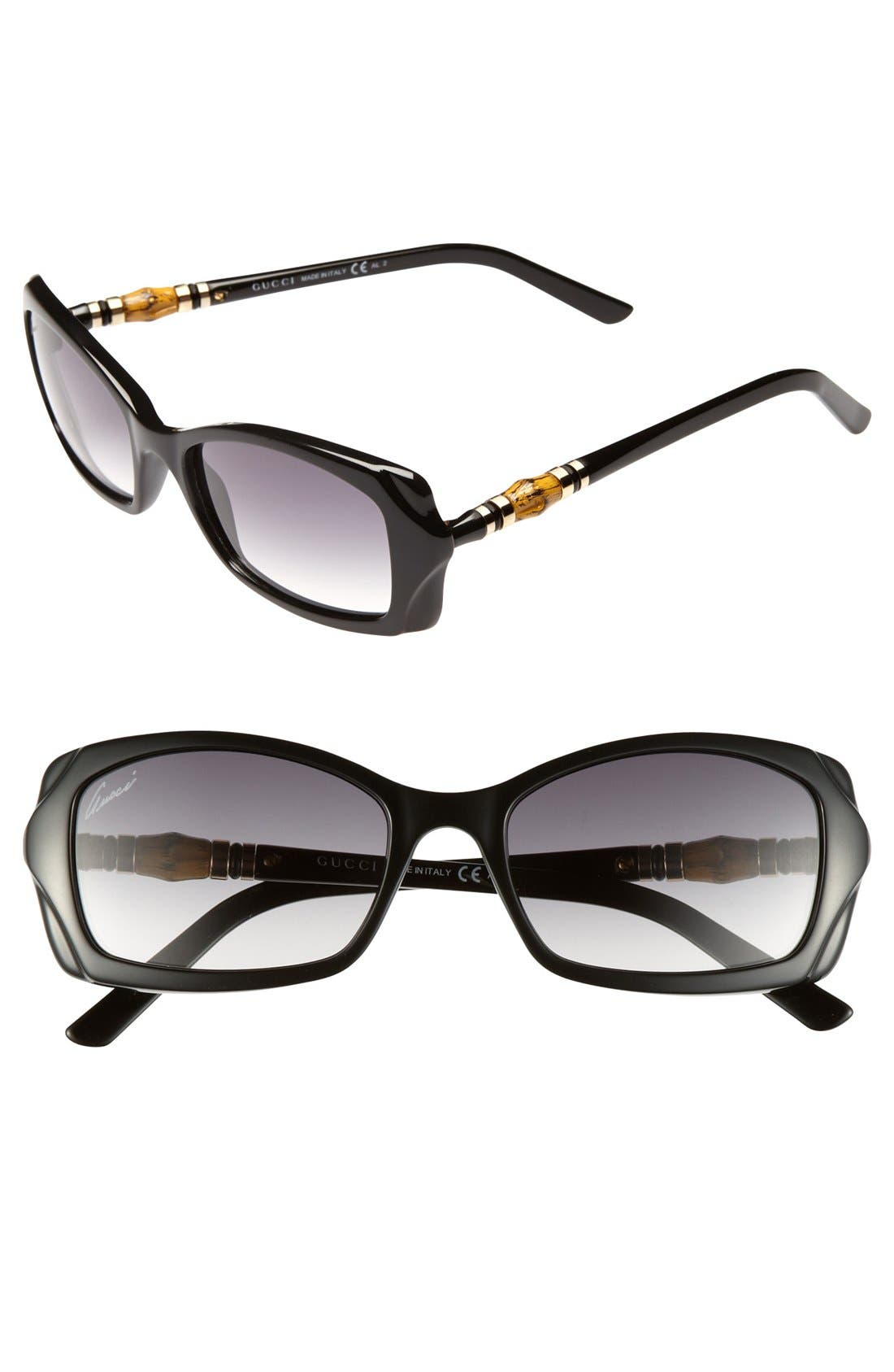 Alternate Image 1 Selected - Gucci 52mm Sunglasses