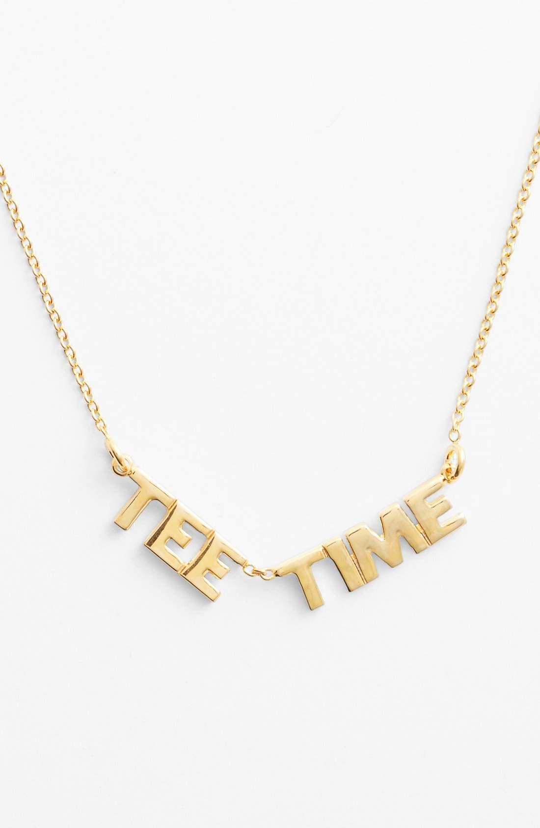 Alternate Image 1 Selected - kate spade new york 'on par - tee time' pendant necklace