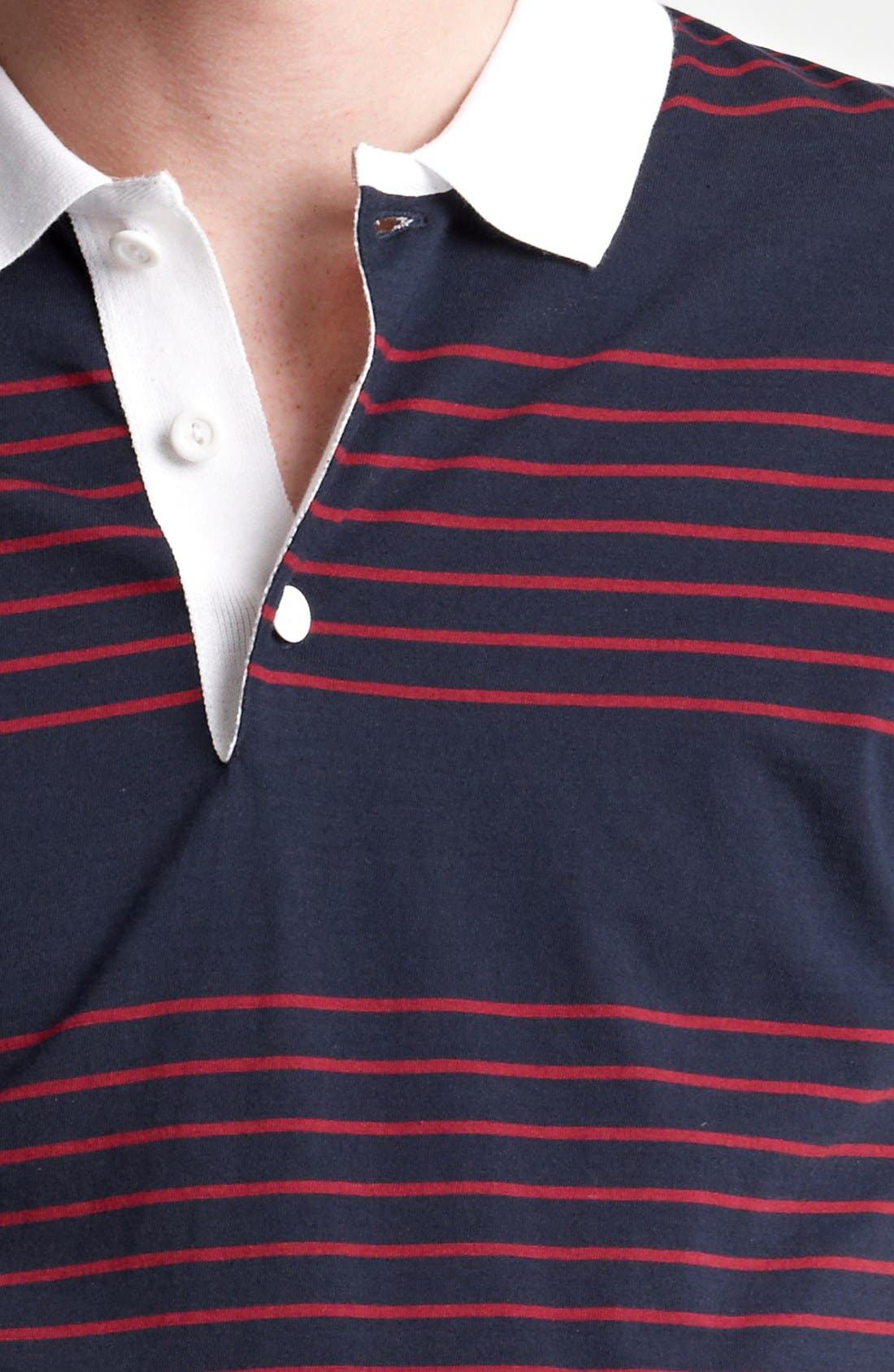 Alternate Image 3  - Shipley & Halmos 'Broome' Stripe Jersey Polo