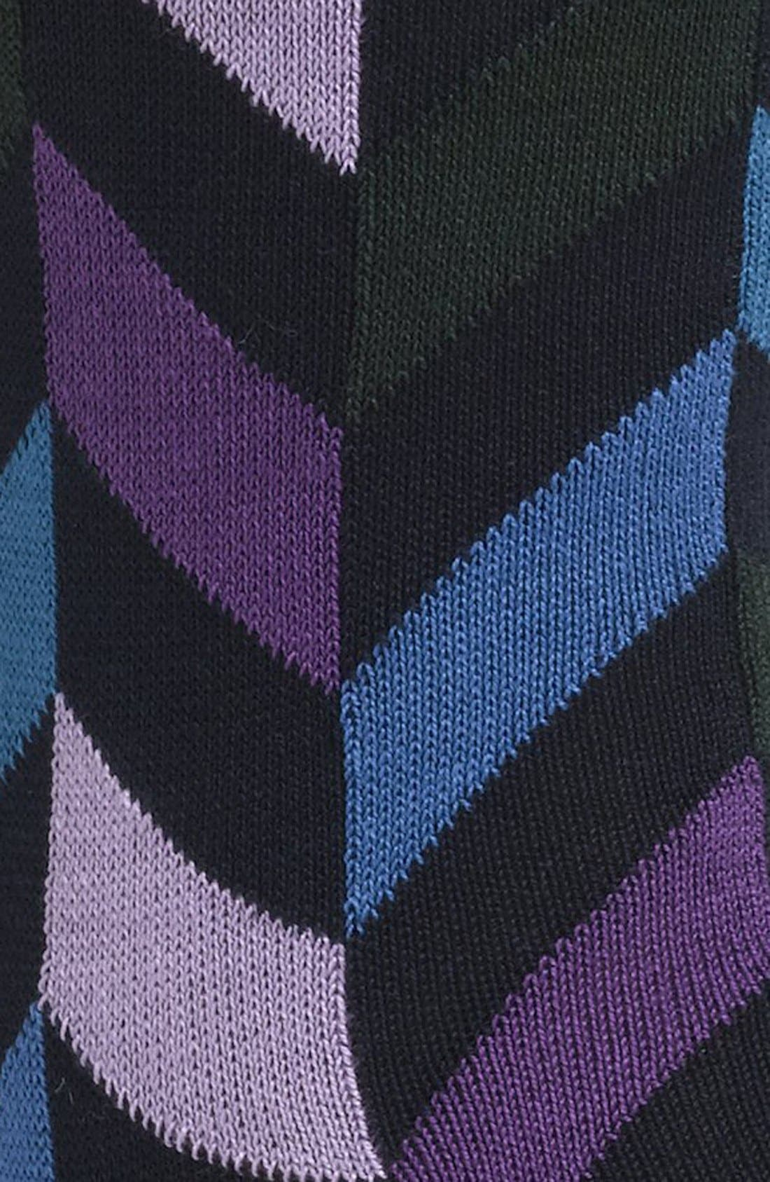 Alternate Image 2  - BUGATCHI Herringbone Socks