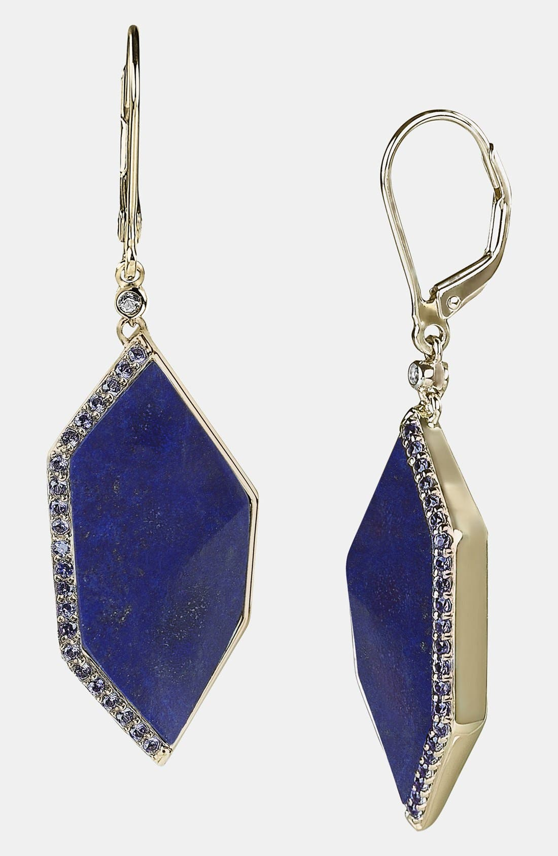 Main Image - Whitney Stern Geometric Drop Earrings