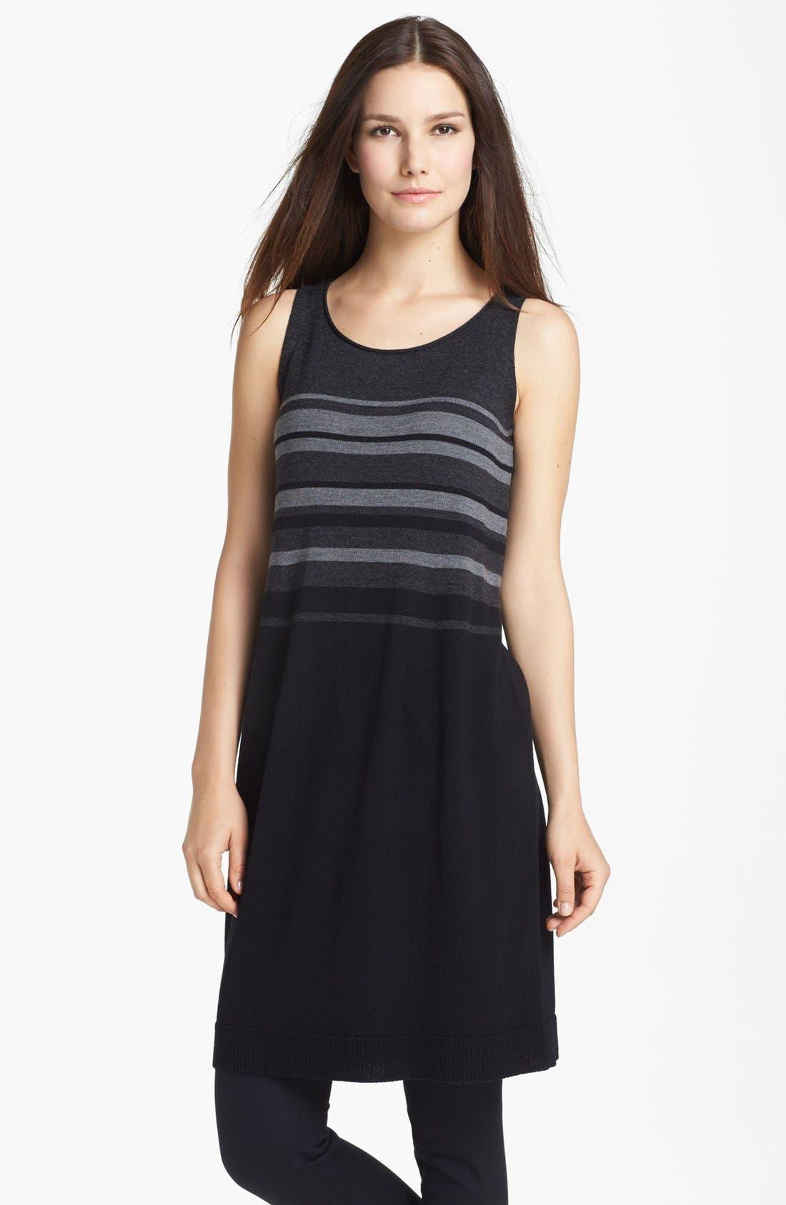 Alternate Image 1 Selected - Eileen Fisher Merino Jersey Dress