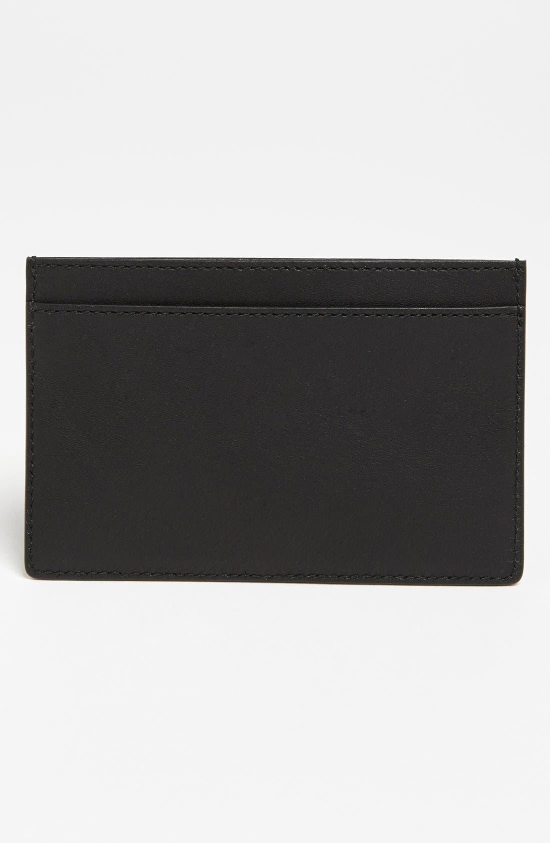 Alternate Image 2  - Saint Laurent Leather Credit Card Case