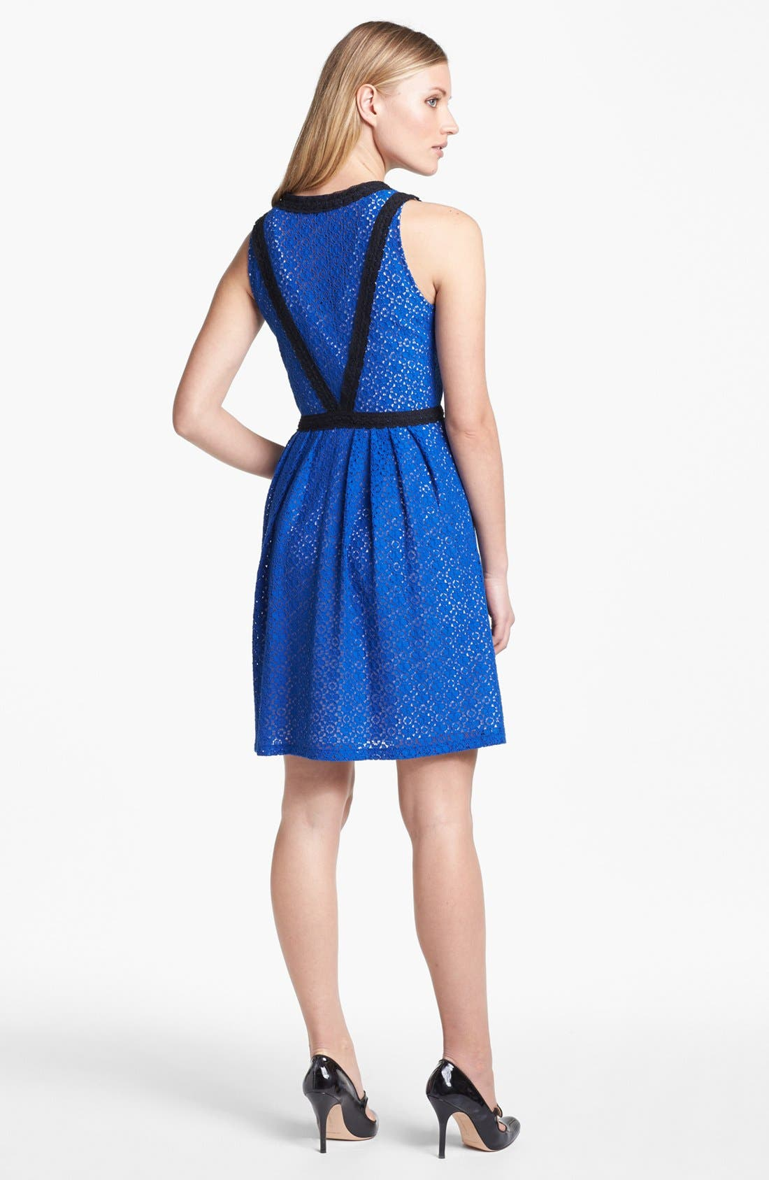 Alternate Image 2  - MARC BY MARC JACOBS 'Collage' Lace Fit & Flare Dress