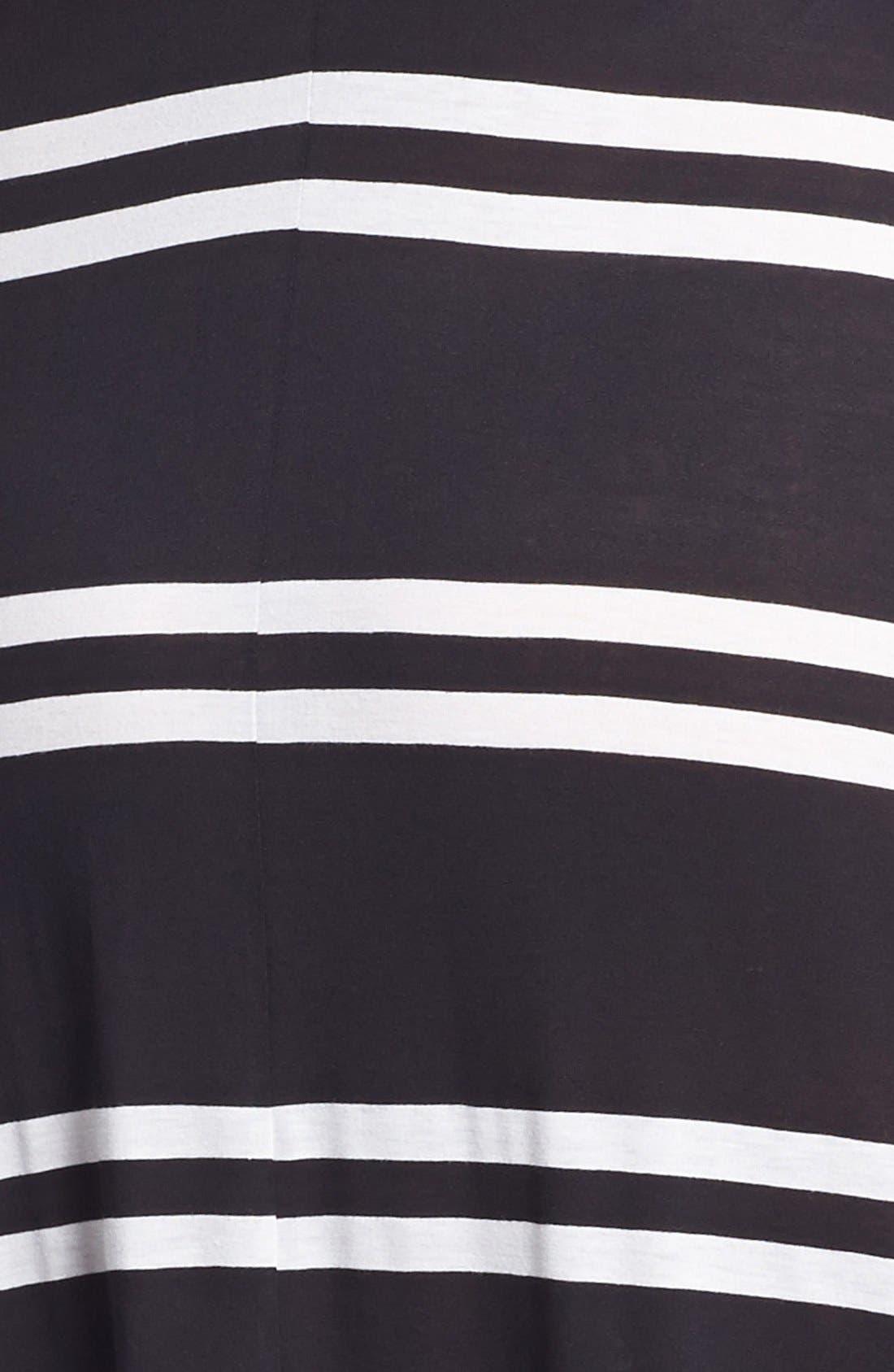 Alternate Image 3  - Eight Sixty Stripe Jersey Maxi Dress (Plus Size)