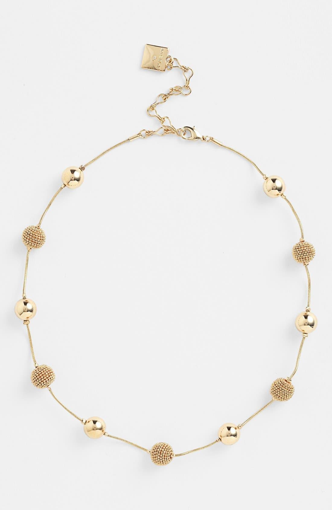 Main Image - Anne Klein Station Collar Necklace