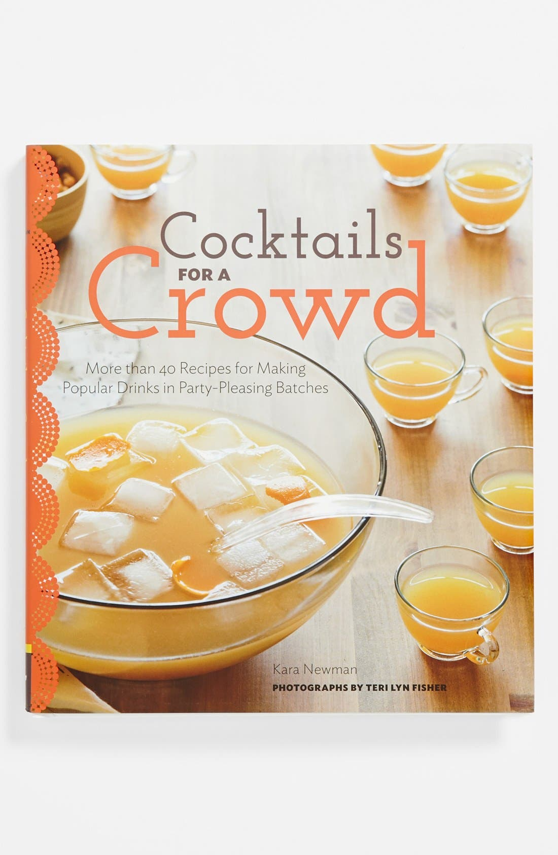 Alternate Image 1 Selected - 'Cocktails for a Crowd' Recipe Book