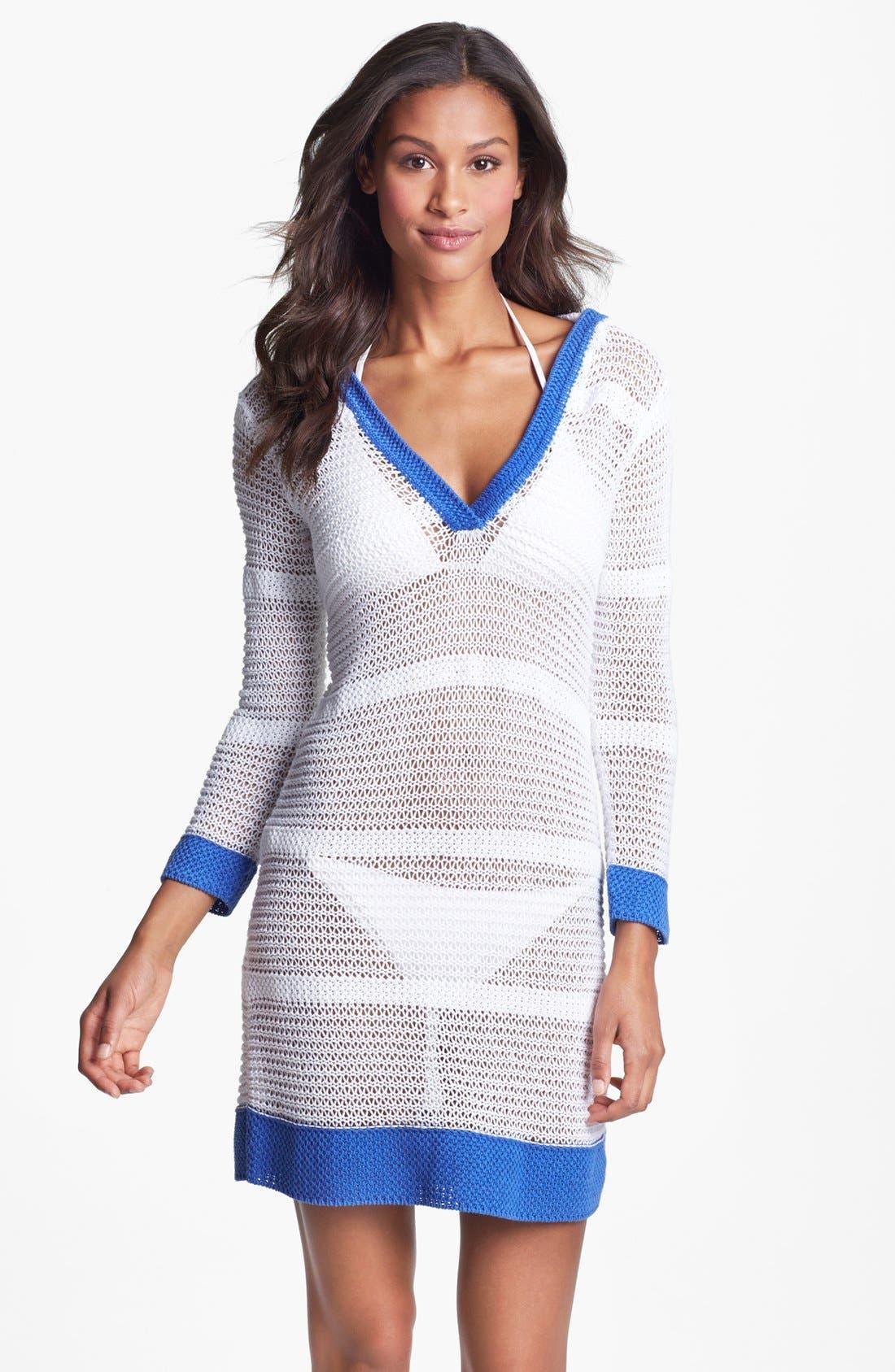 Main Image - Tommy Bahama Open Stitch Beach Sweater