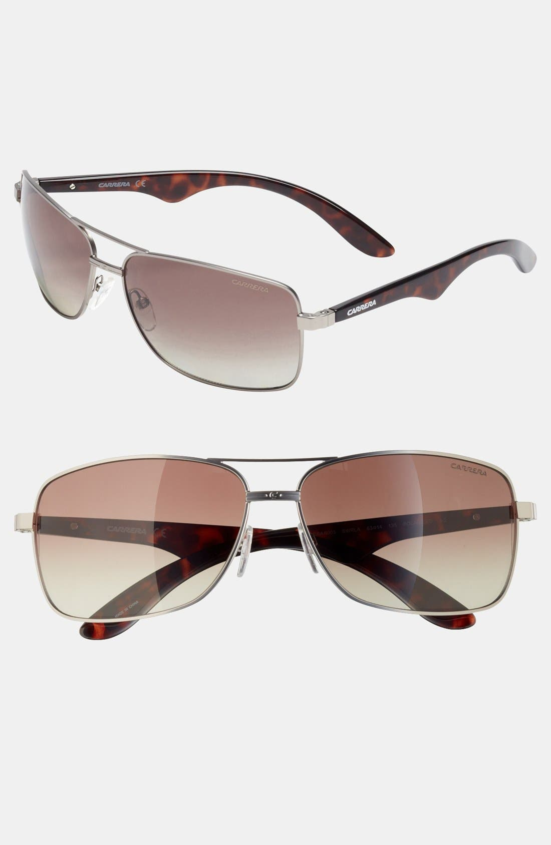 Alternate Image 1 Selected - Carrera Eyewear 63mm Sunglasses