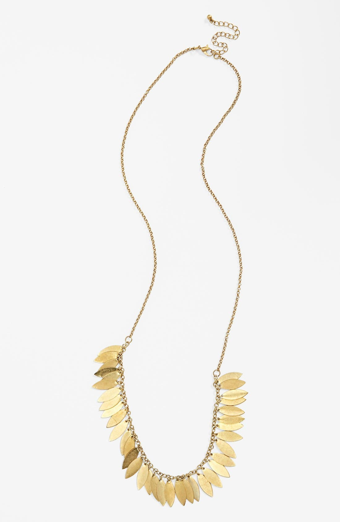 Main Image - Carole Leaf Layering Necklace