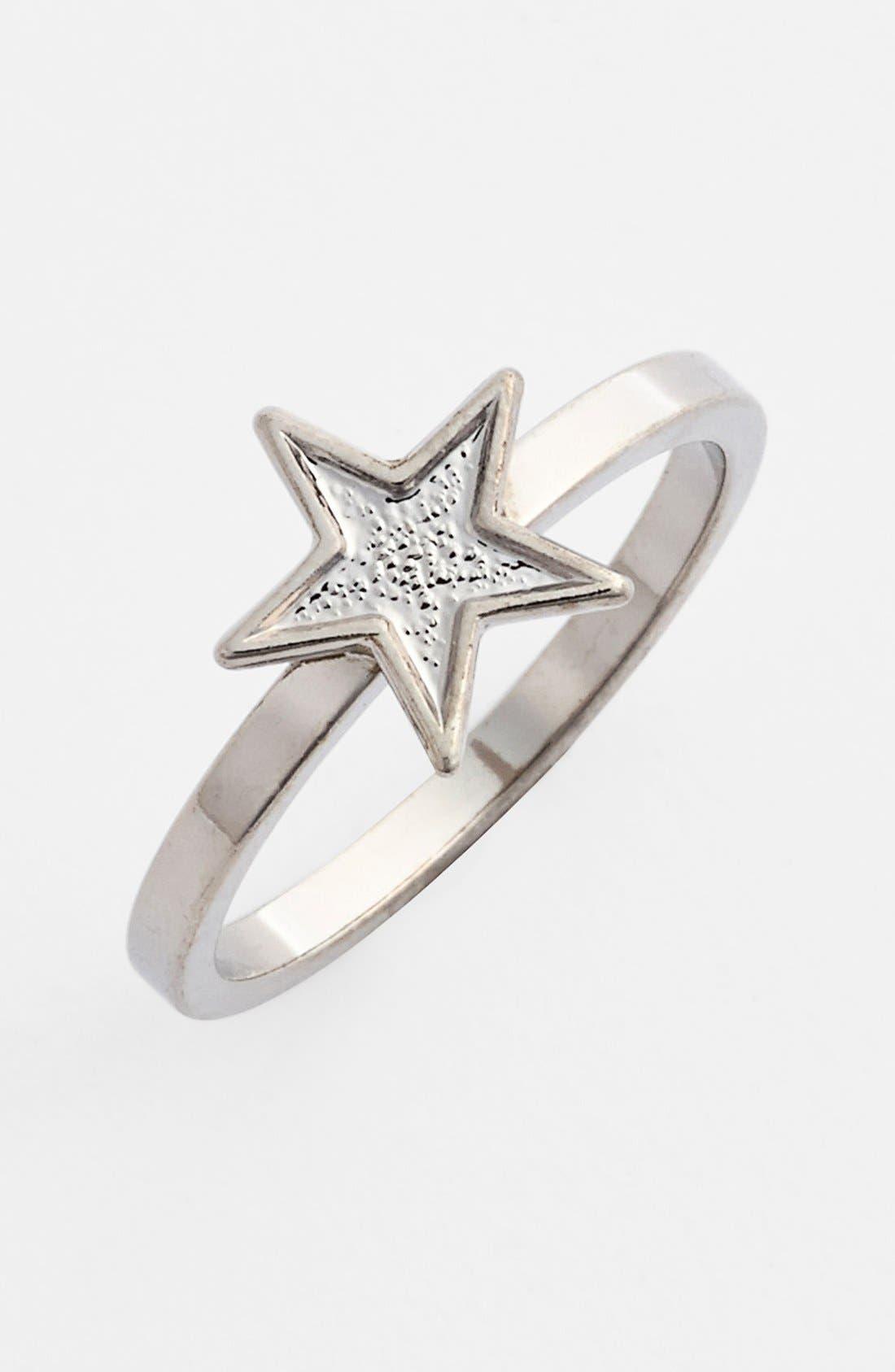 Alternate Image 1 Selected - Rachel Star Midi Ring (Juniors)
