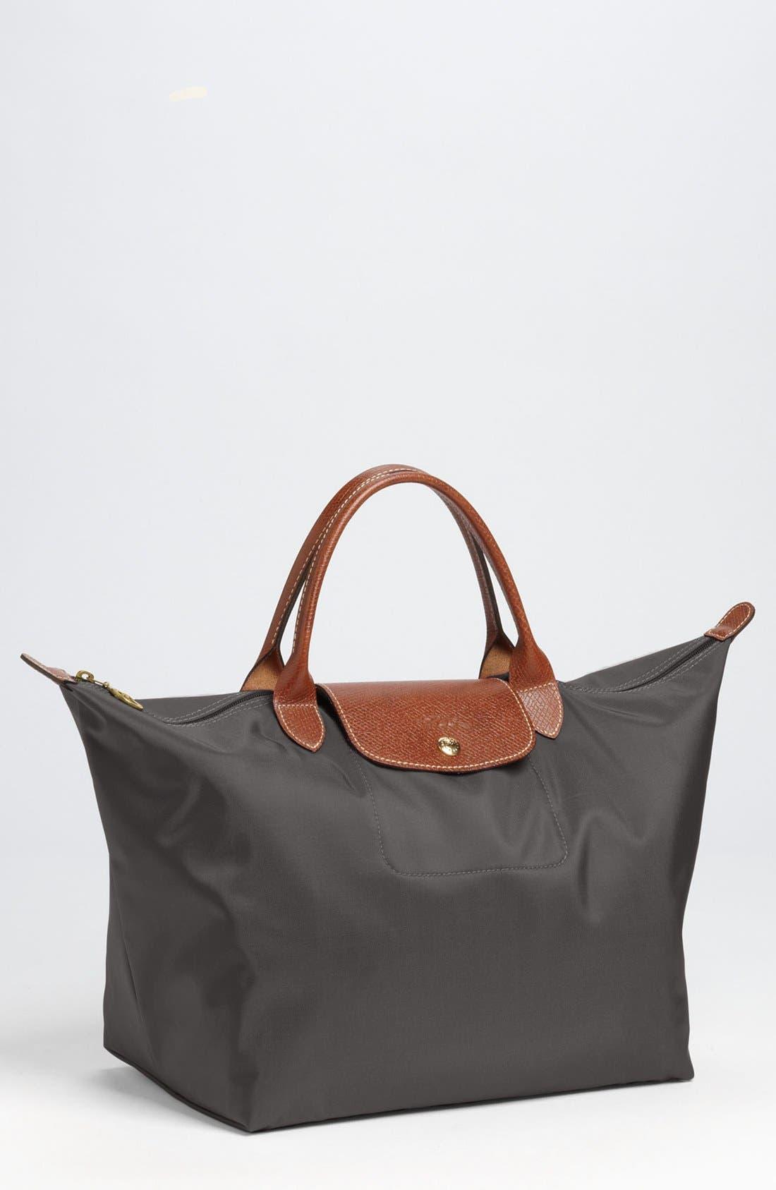 Longchamp 'Medium Le Pliage' Top Handle Tote