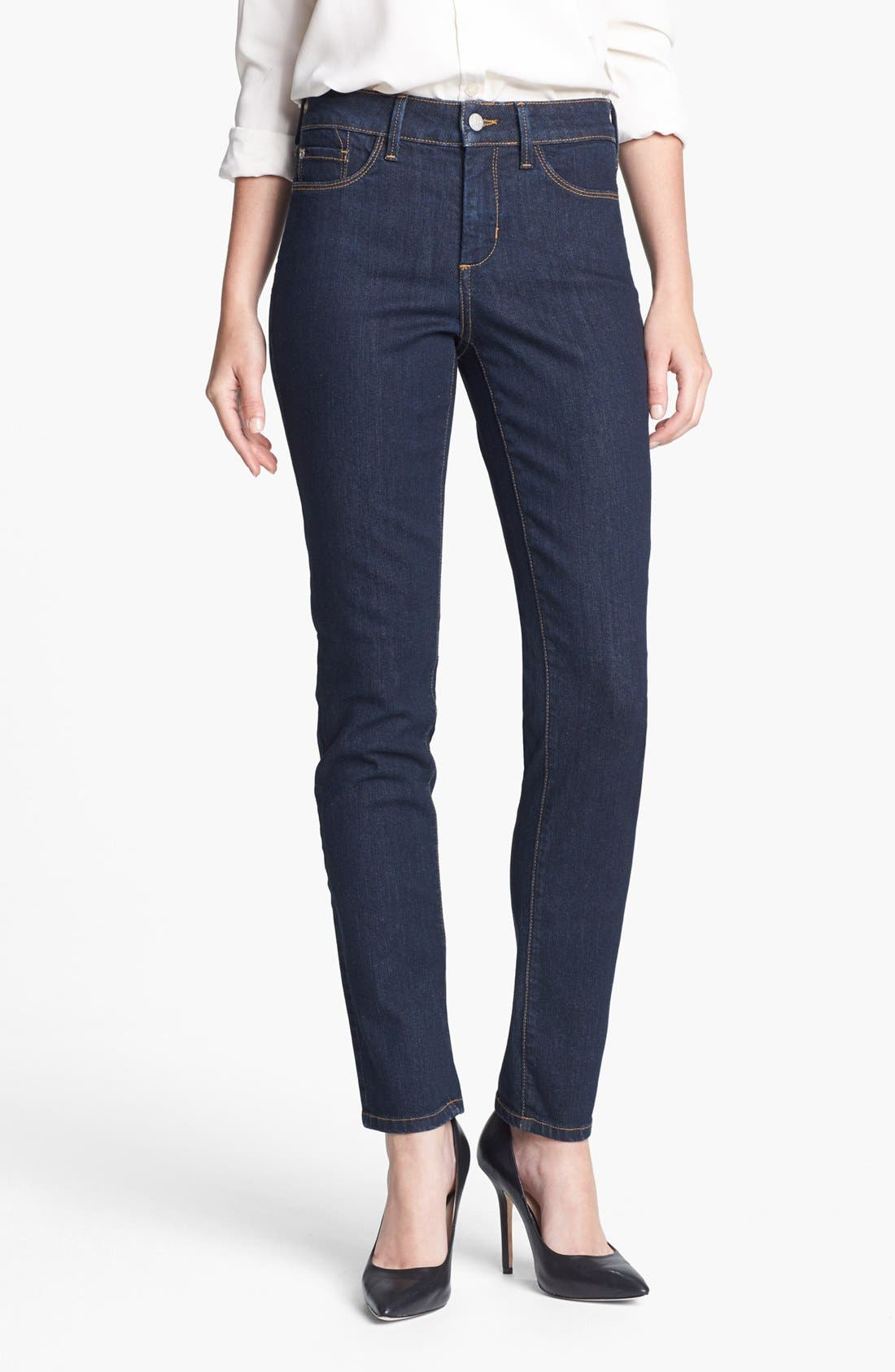 Alternate Image 1 Selected - NYDJ 'Alina' Stretch Skinny Jeans (Larchmont) (Regular & Petite)