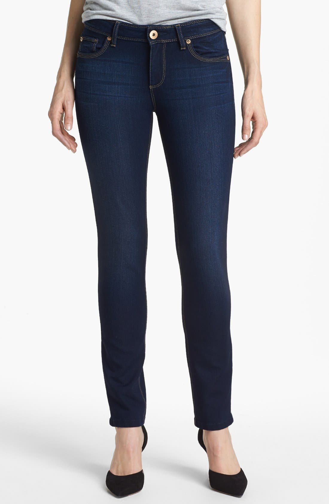 Main Image - DL1961 'Angel' Ankle Skinny Jeans (Oslo)