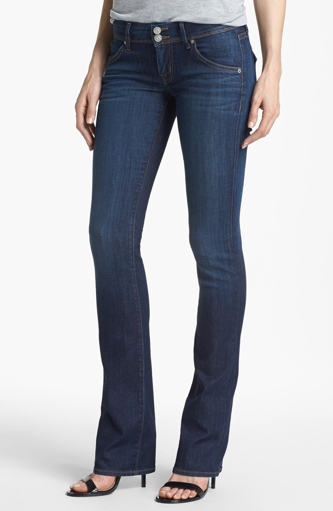 Main Image - Hudson Jeans 'Beth Supermodel' Baby Bootcut Jeans (Iconic)